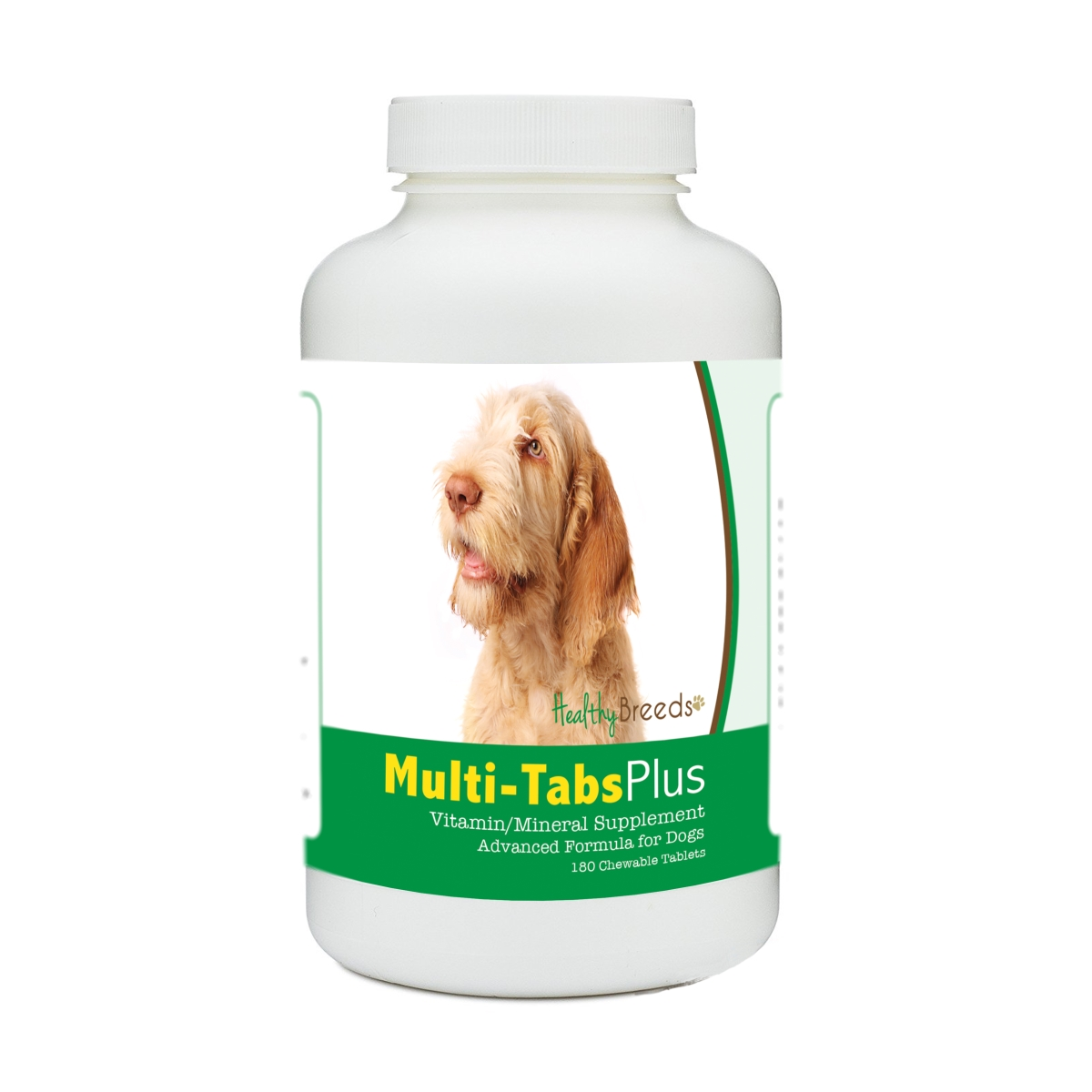 Healthy Breeds 840235172673 Spinoni Italiani Multi-Tabs Plus Chewable Tablets - 180 Count
