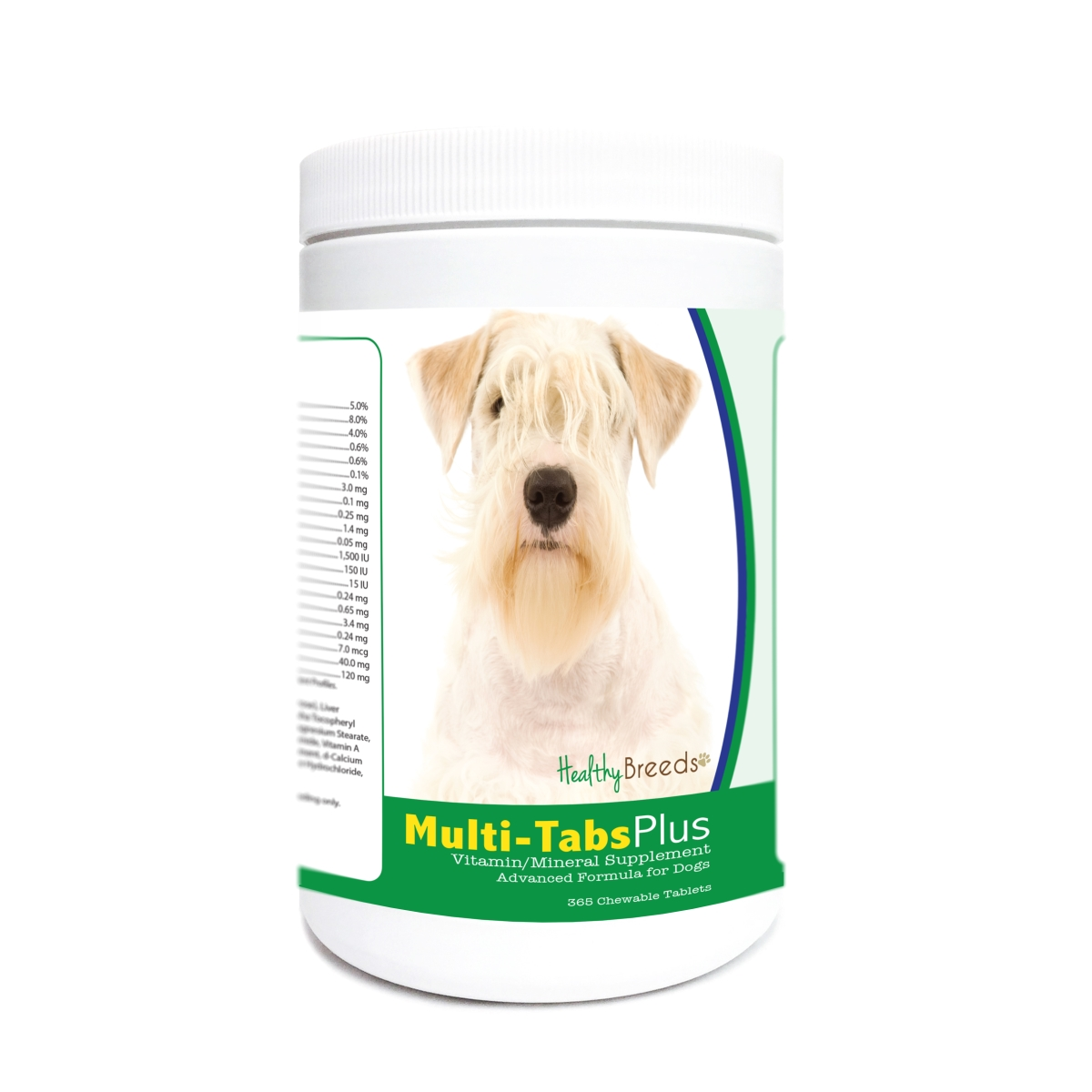 Healthy Breeds 840235172765 Sealyham Terrier Multi-Tabs Plus Chewable Tablets - 365 Count