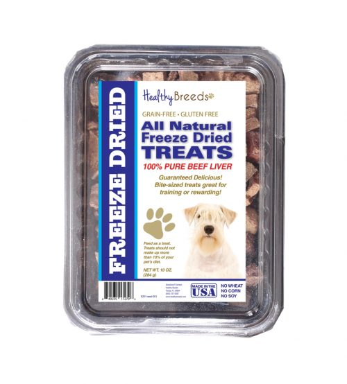 Healthy Breeds 840235172796 10 oz Sealyham Terrier All Natural Freeze Dried Treats Beef Liver
