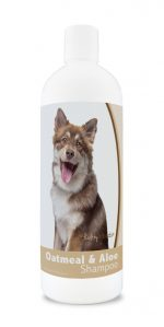 Healthy Breeds 840235172932 16 oz Finnish Lapphund Oatmeal Shampoo with Aloe