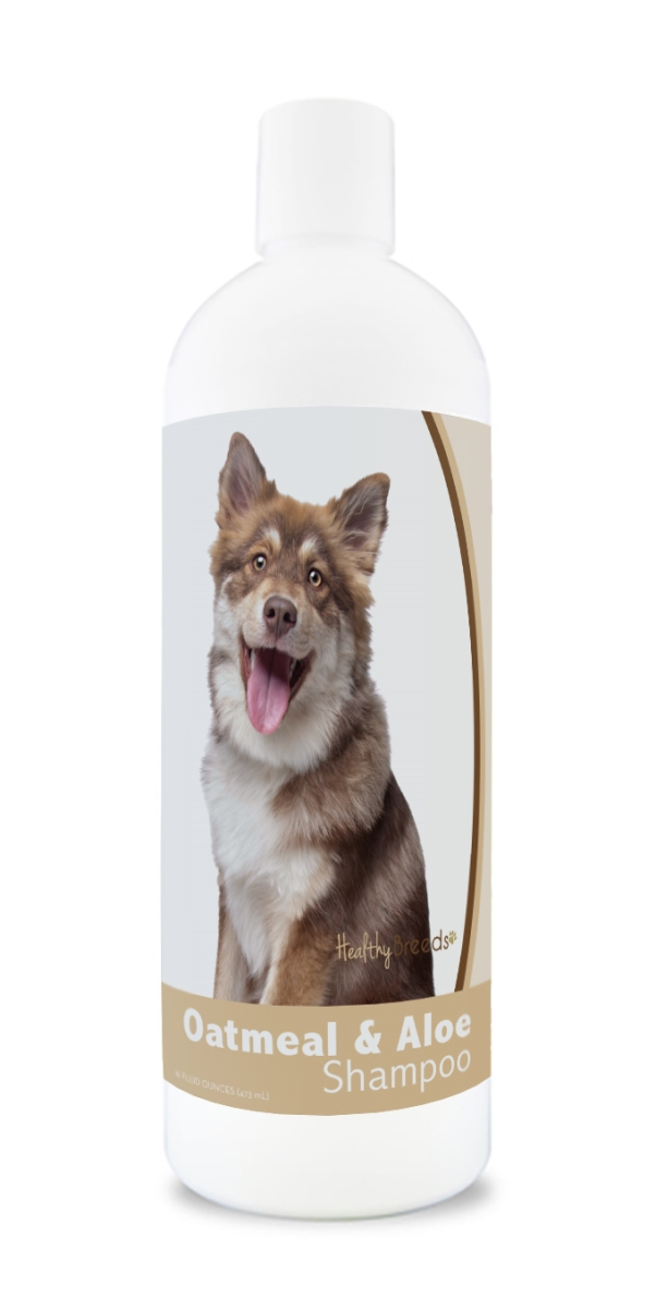 Healthy Breeds 840235172932 16 oz Finnish Lapphund Oatmeal Shampoo with Aloe