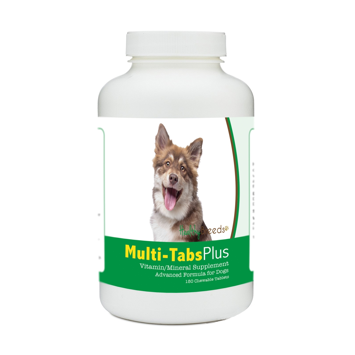 Healthy Breeds 840235172970 Finnish Lapphund Multi-Tabs Plus Chewable Tablets - 180 Count