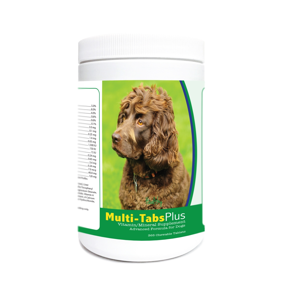 Healthy Breeds 840235173021 Boykin Spaniel Multi-Tabs Plus Chewable Tablets - 365 Count
