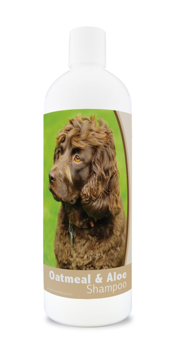 Healthy Breeds 840235173052 16 oz Boykin Spaniel Oatmeal Shampoo with Aloe
