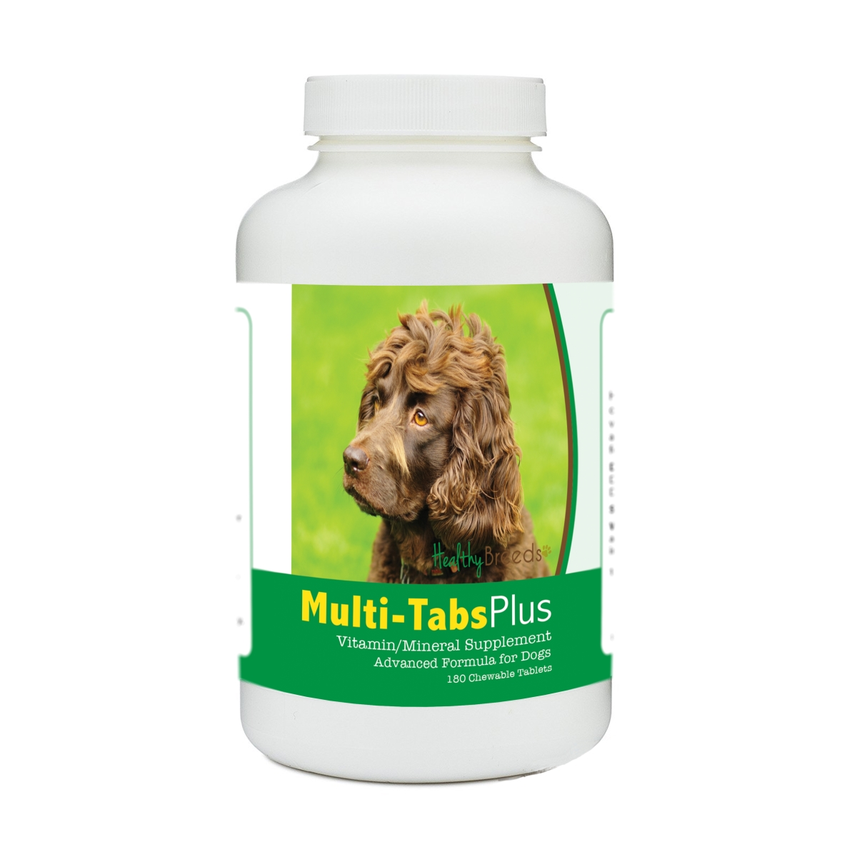 Healthy Breeds 840235173090 Boykin Spaniel Multi-Tabs Plus Chewable Tablets - 180 Count