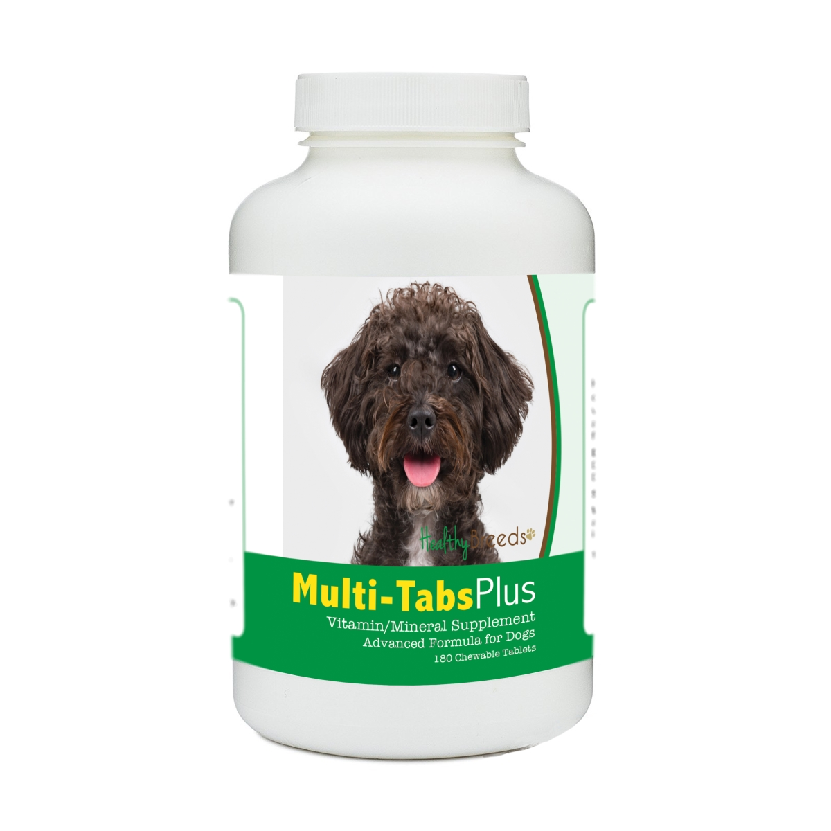 Healthy Breeds 840235173656 Schnoodle Multi-Tabs Plus Chewable Tablets - 180 Count