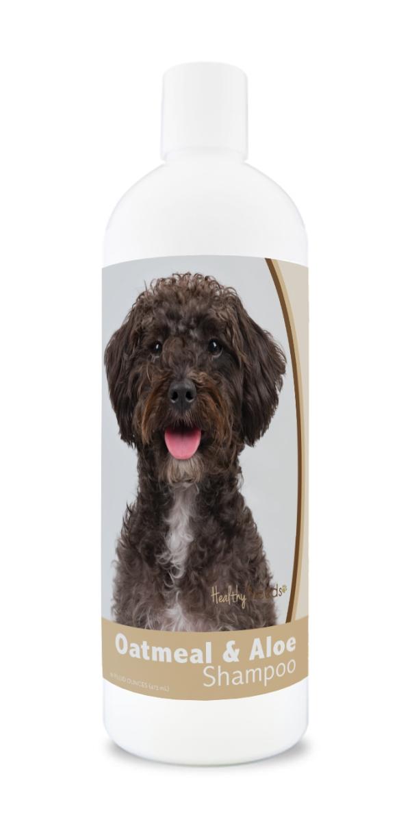 Healthy Breeds 840235173717 16 oz Schnoodle Oatmeal Shampoo with Aloe