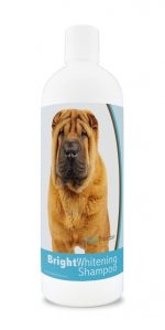Healthy Breeds 840235173762 12 oz Chinese Shar Pei Bright Whitening Shampoo