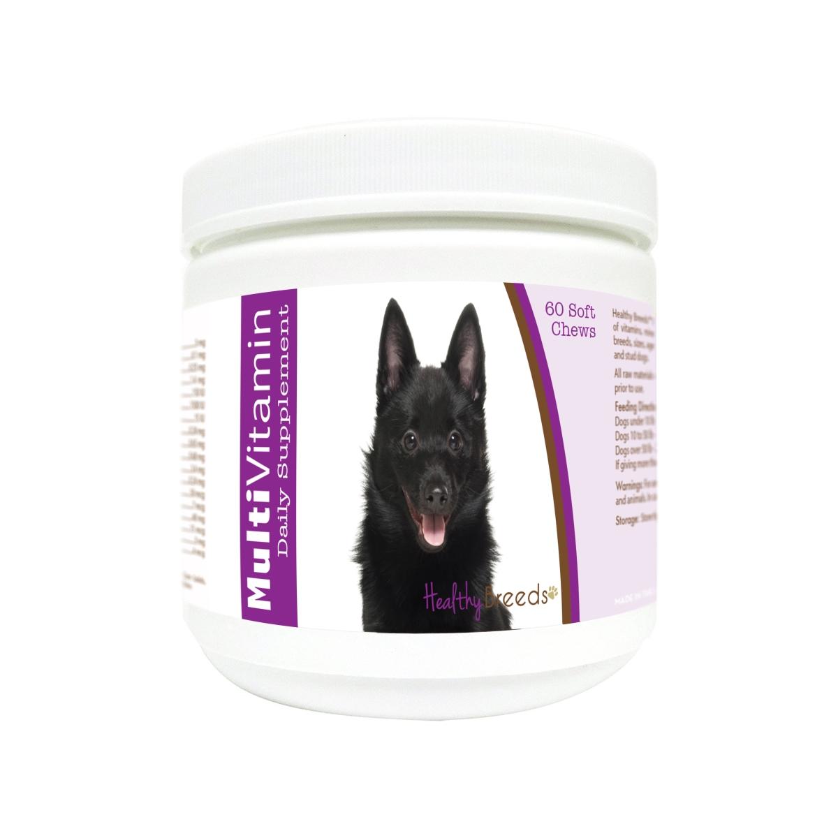 Healthy Breeds 840235173908 Schipperke Multi-Vitamin Soft Chews - 60 Count