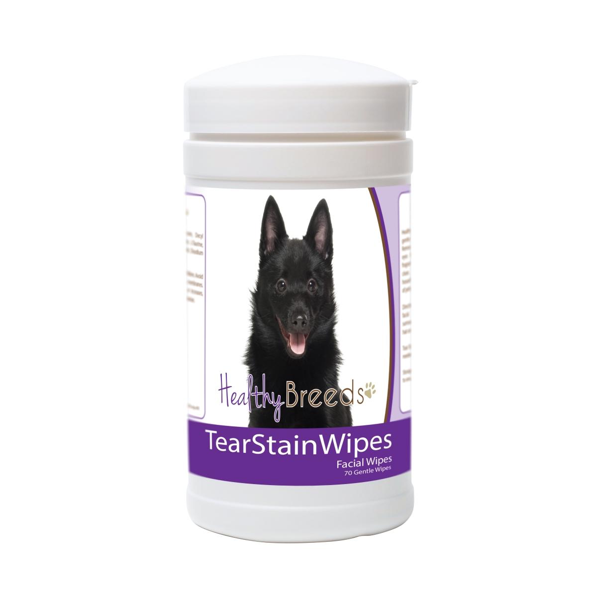 Healthy Breeds 840235173915 Schipperke Tear Stain Wipes - 70 Count