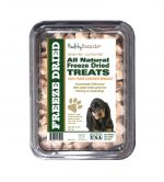 Healthy Breeds 840235174042 8 oz Black & Tan Coonhound All Natural Freeze Dried Treats Chicken Breast