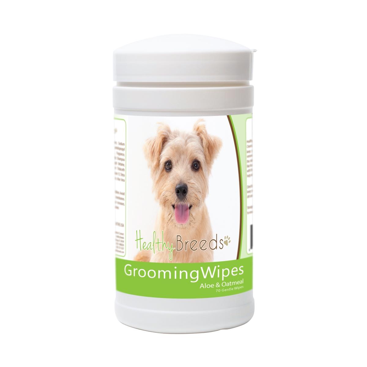 Healthy Breeds 840235174141 Norfolk Terrier Grooming Wipes - 70 Count