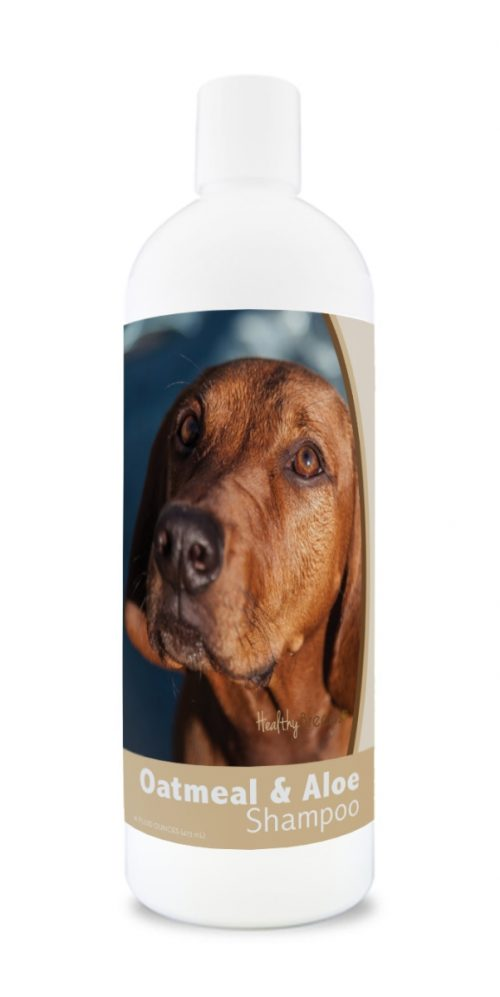 Healthy Breeds 840235174288 16 oz Redbone Coonhound Oatmeal Shampoo with Aloe