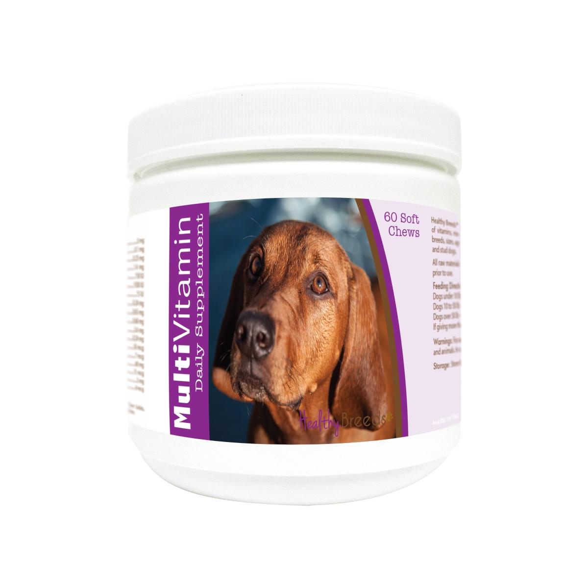 Healthy Breeds 840235174301 Redbone Coonhound Multi-Vitamin Soft Chews - 60 Count