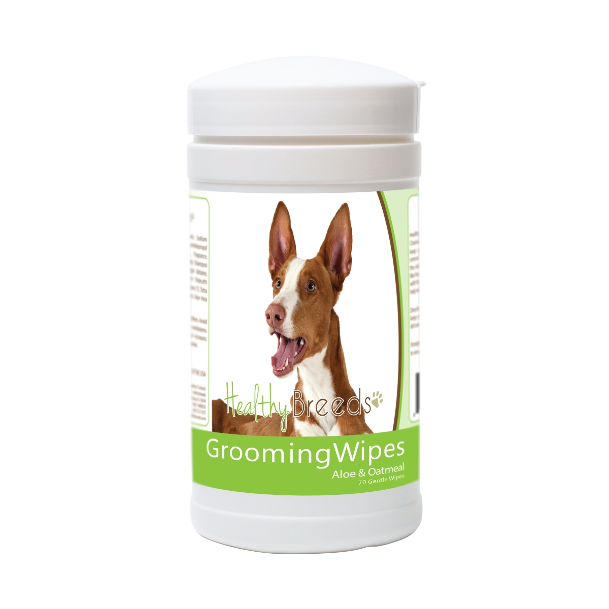 Healthy Breeds 840235174462 Ibizan Hound Grooming Wipes - 70 Count