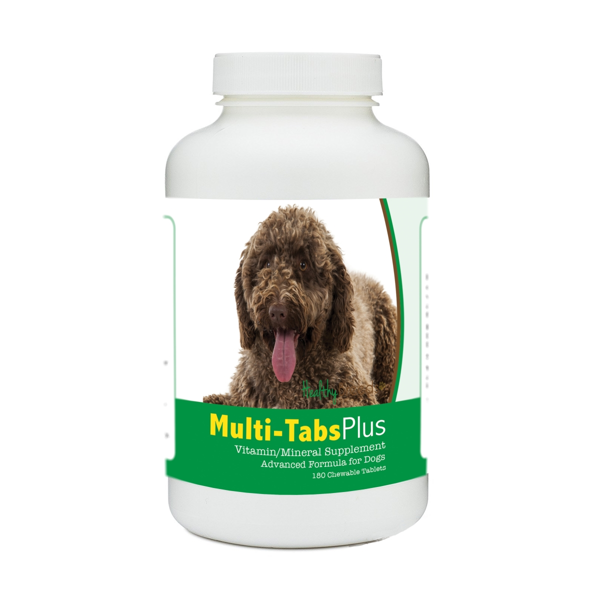 Healthy Breeds 840235174578 Spanish Water Dog Multi-Tabs Plus Chewable Tablets - 180 Count