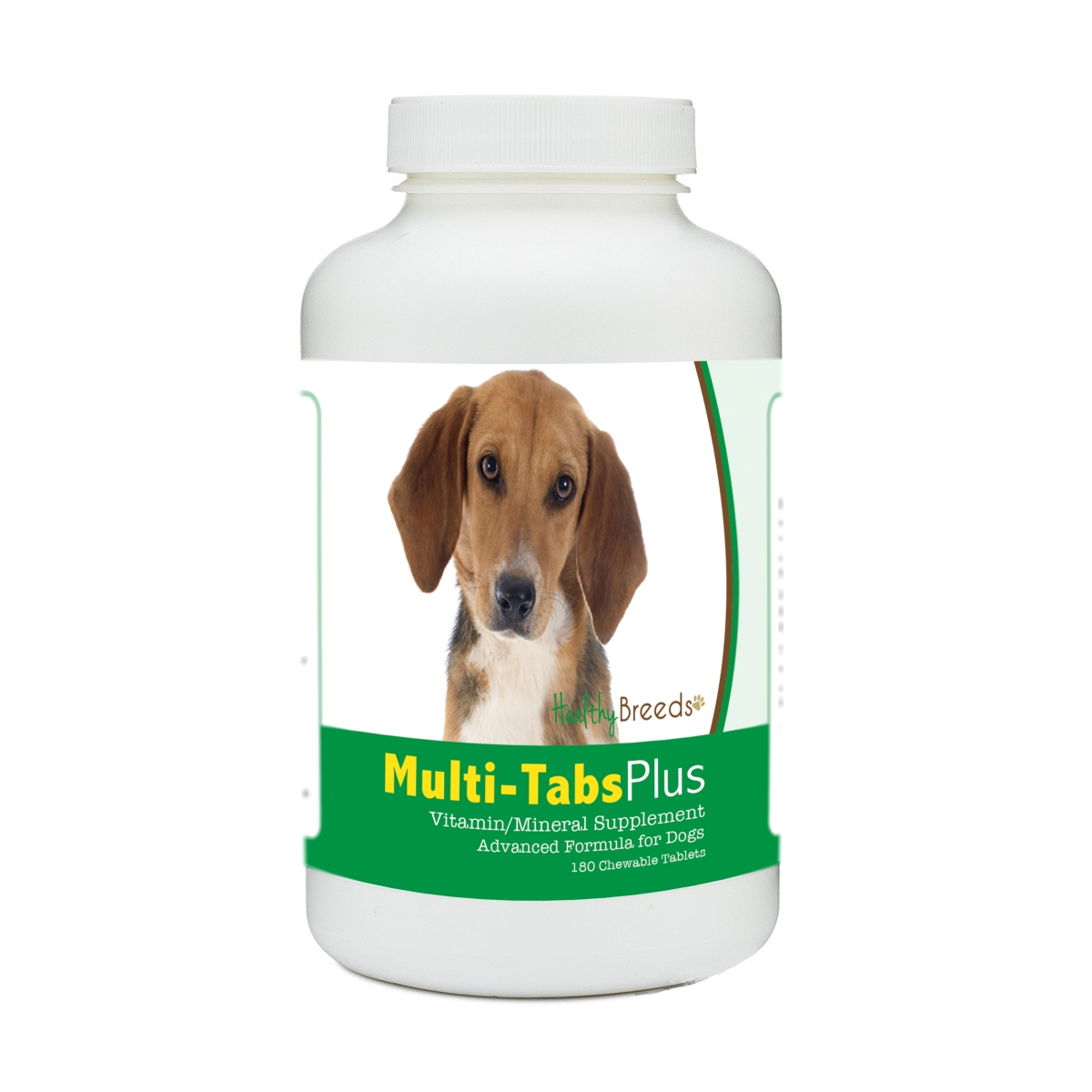 Healthy Breeds 840235174646 Harrier Multi-Tabs Plus Chewable Tablets - 180 Count