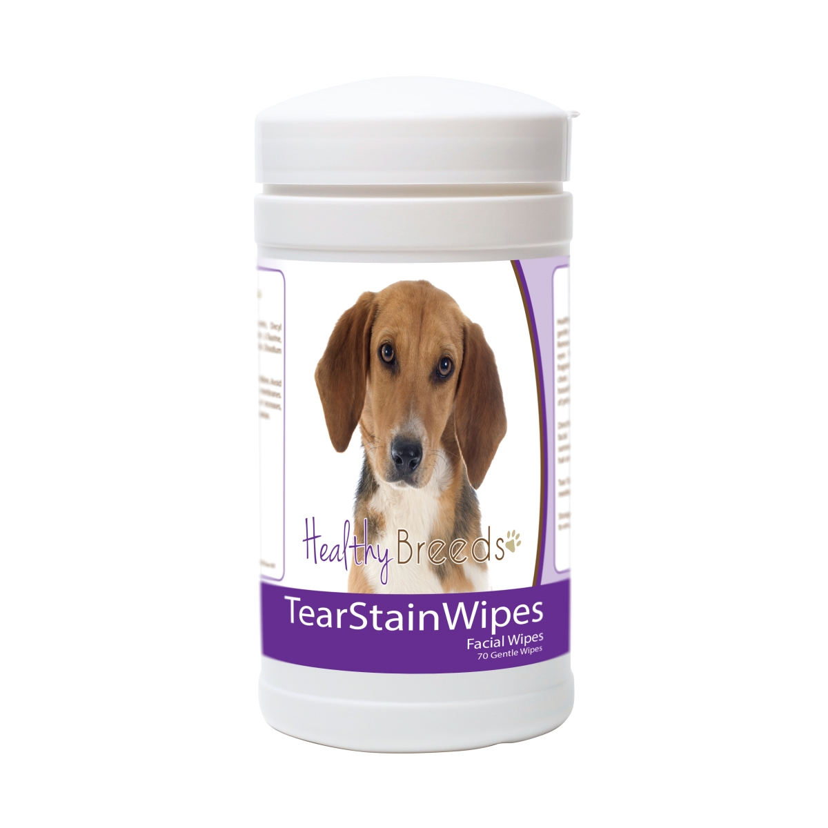 Healthy Breeds 840235174677 Harrier Tear Stain Wipes - 70 Count