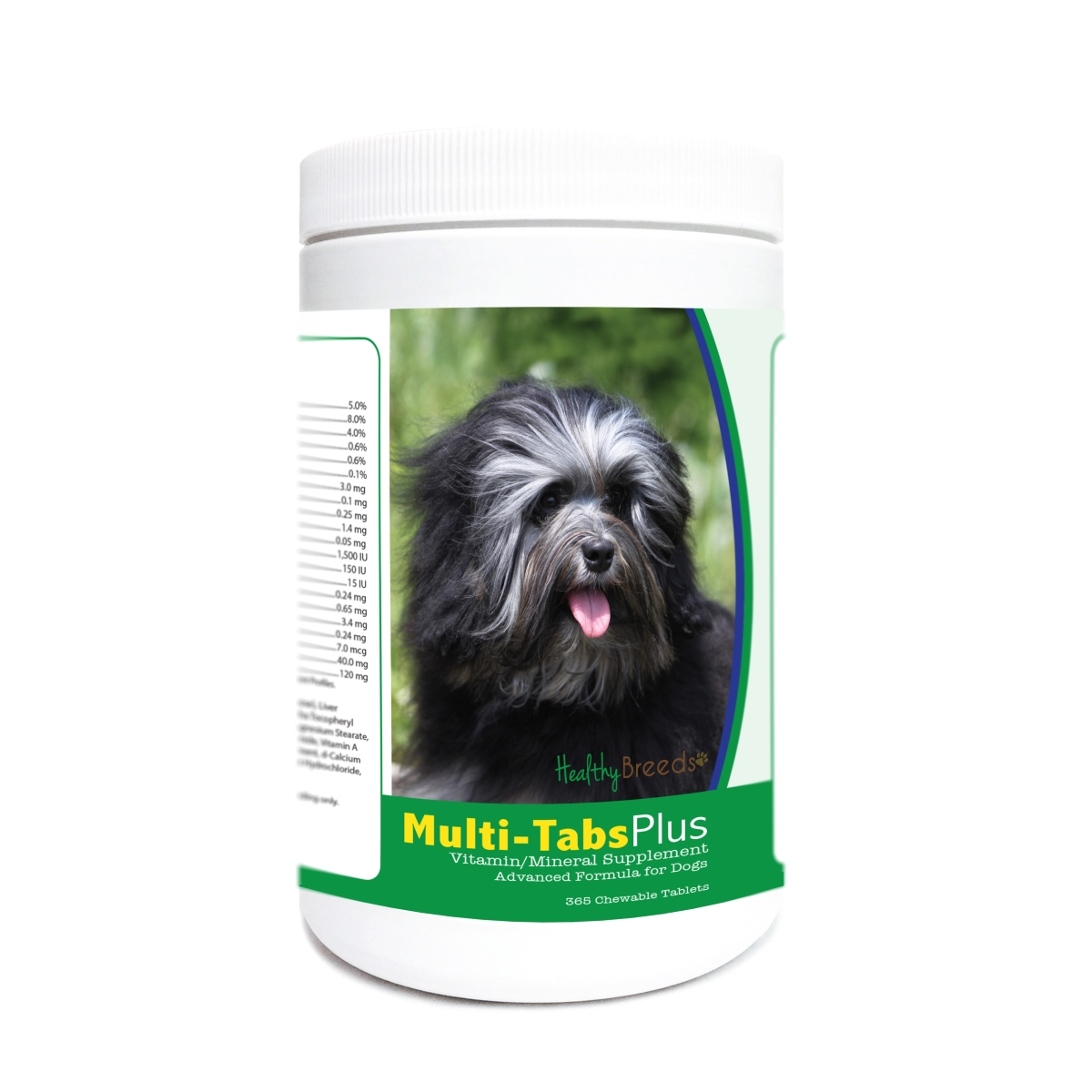 Healthy Breeds 840235174783 Lowchen Multi-Tabs Plus Chewable Tablets - 365 Count