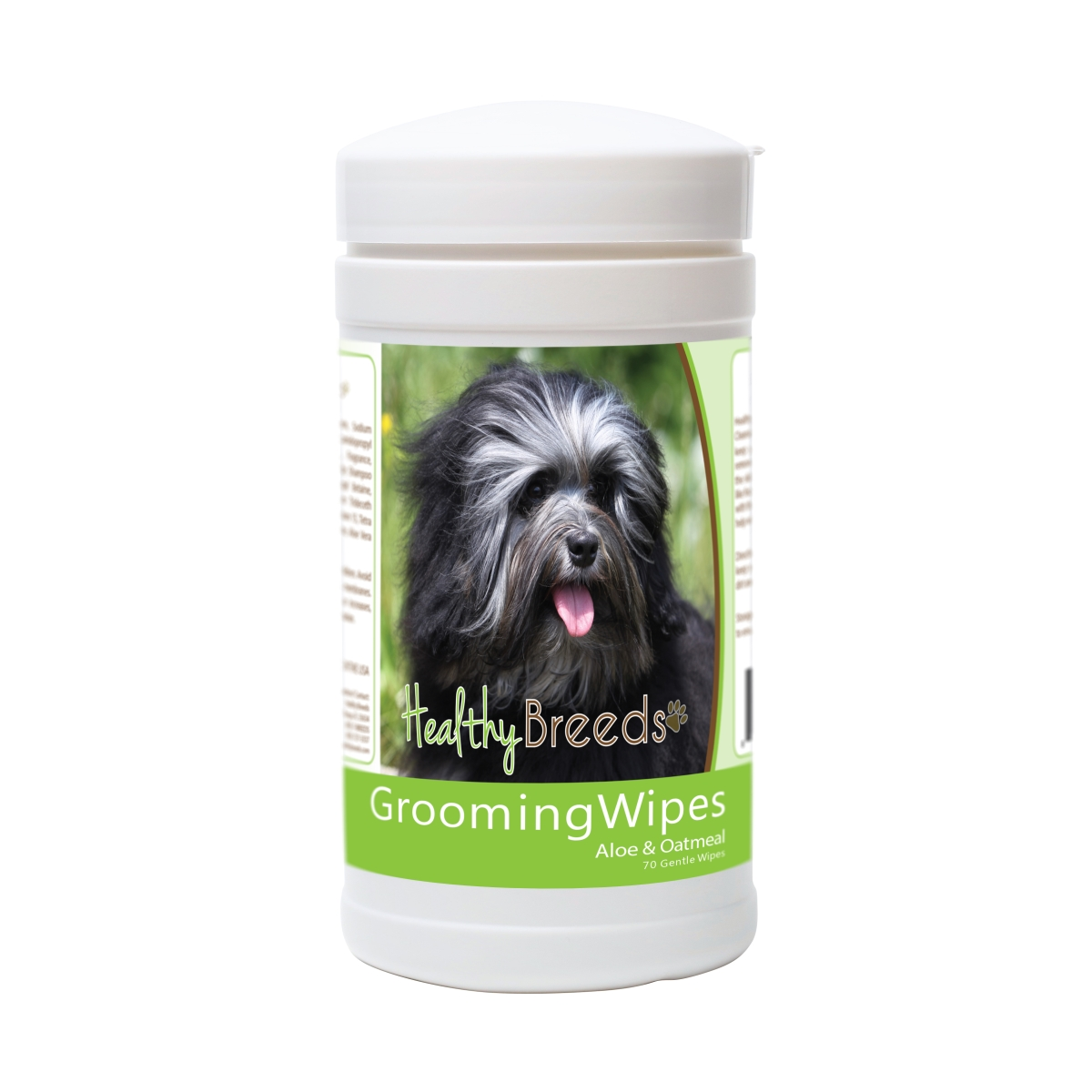 Healthy Breeds 840235174806 Lowchen Grooming Wipes - 70 Count