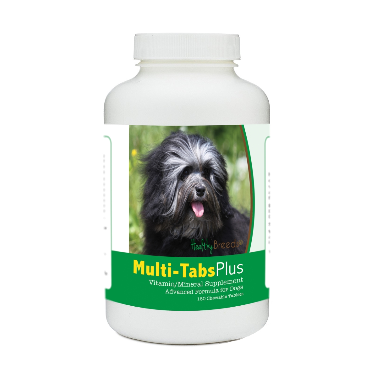 Healthy Breeds 840235174820 Lowchen Multi-Tabs Plus Chewable Tablets - 180 Count