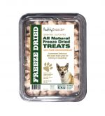 Healthy Breeds 840235174882 8 oz Norwegian Buhund All Natural Freeze Dried Treats Chicken Breast