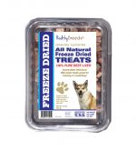 Healthy Breeds 840235174912 10 oz Norwegian Lundehund All Natural Freeze Dried Treats Beef Liver