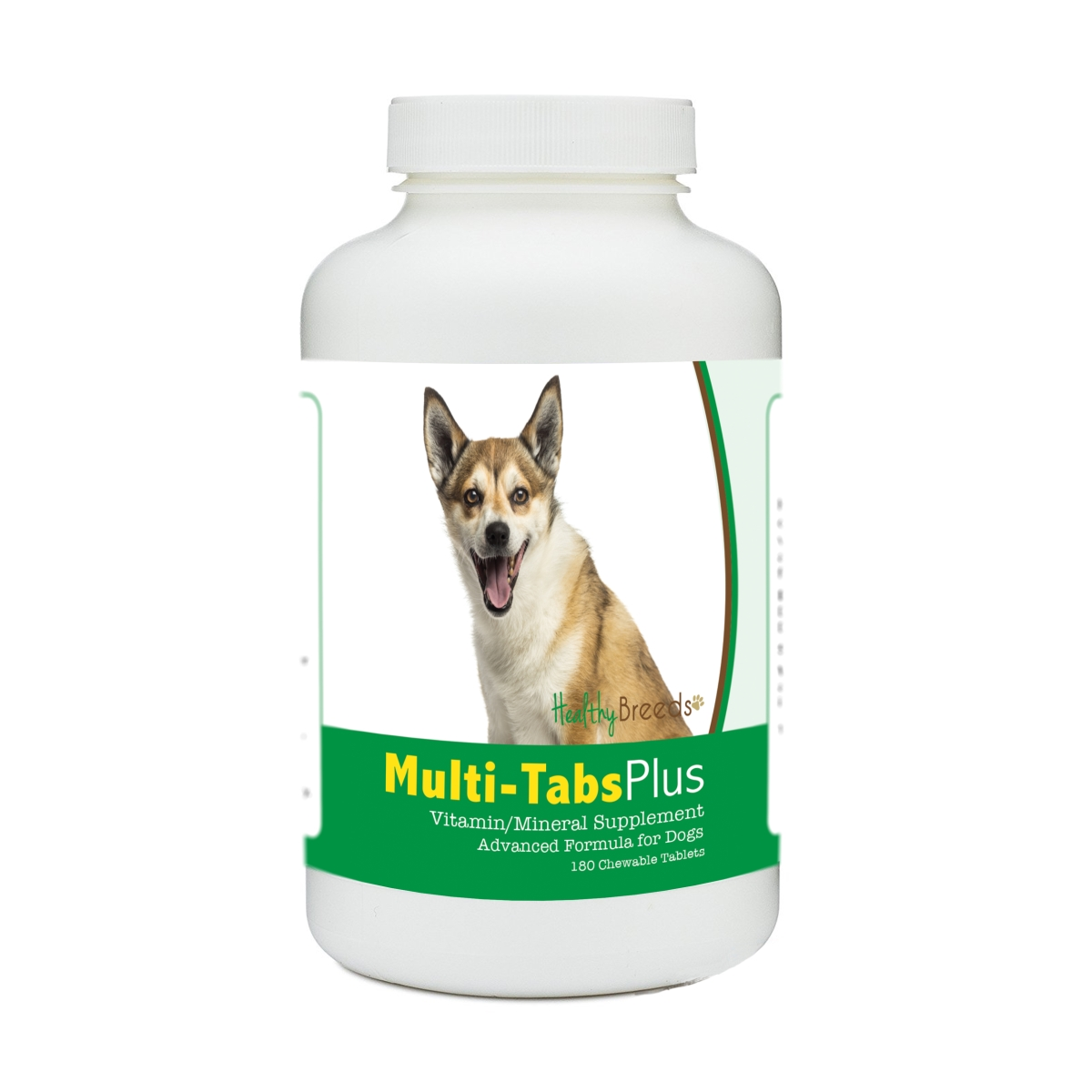Healthy Breeds 840235174936 Norwegian Lundehund Multi-Tabs Plus Chewable Tablets - 180 Count