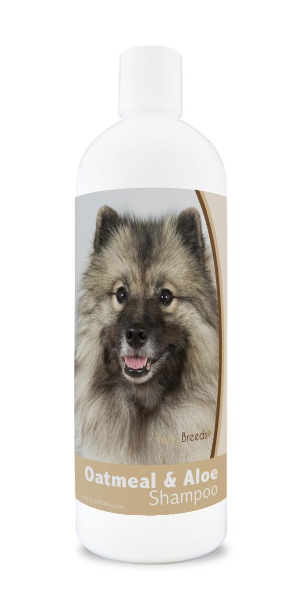 Healthy Breeds 840235174998 16 oz Keeshonden Oatmeal Shampoo with Aloe
