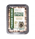 Healthy Breeds 840235175001 8 oz Keeshonden All Natural Freeze Dried Treats Chicken Breast