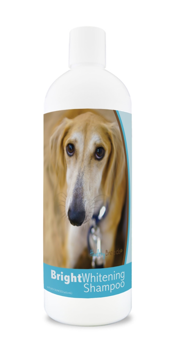 Healthy Breeds 840235175254 12 oz Sloughi Bright Whitening Shampoo