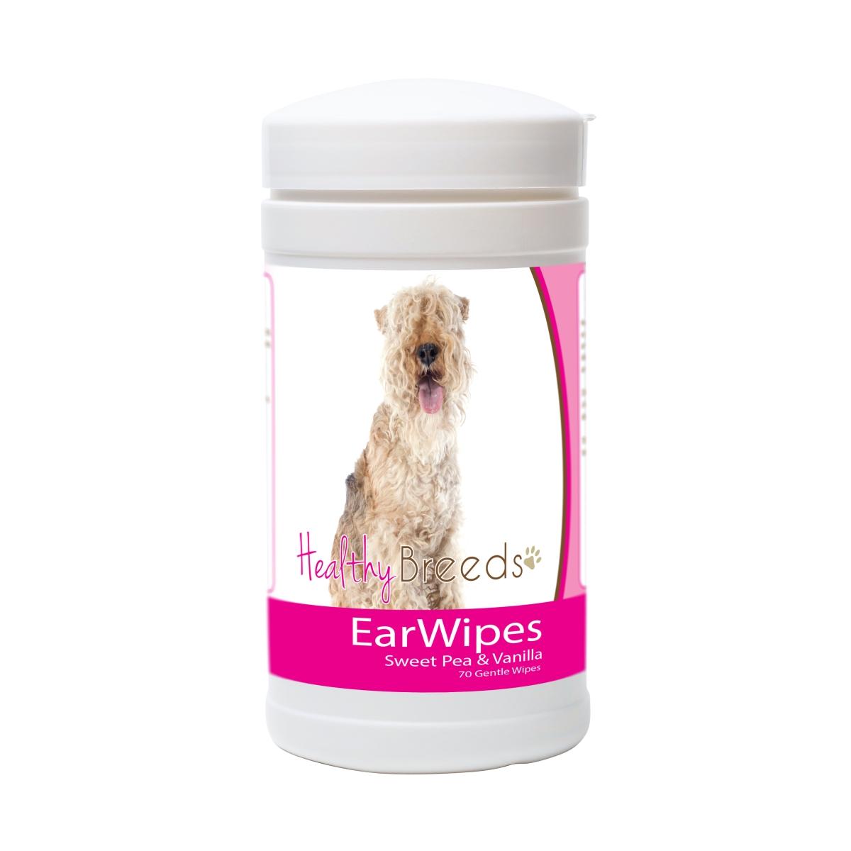 Healthy Breeds 840235175322 Lakeland Terrier Ear Wipes - 70 Count