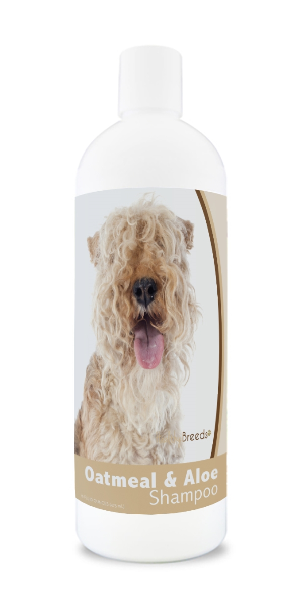 Healthy Breeds 840235175384 16 oz Lakeland Terrier Oatmeal Shampoo with Aloe