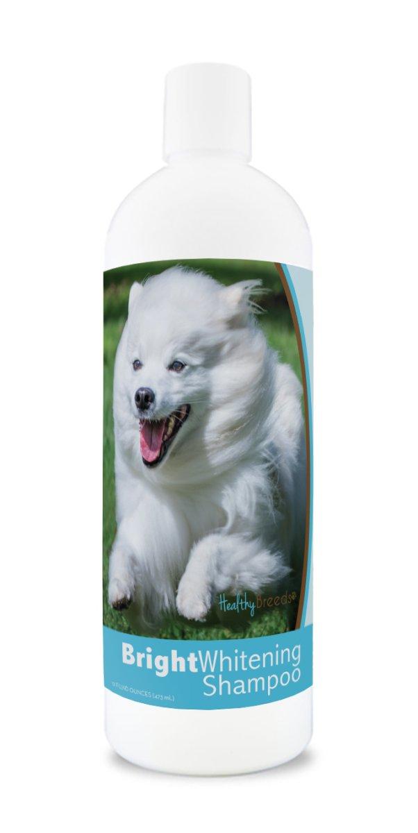 Healthy Breeds 840235175421 12 oz American Eskimo Dog Bright Whitening Shampoo