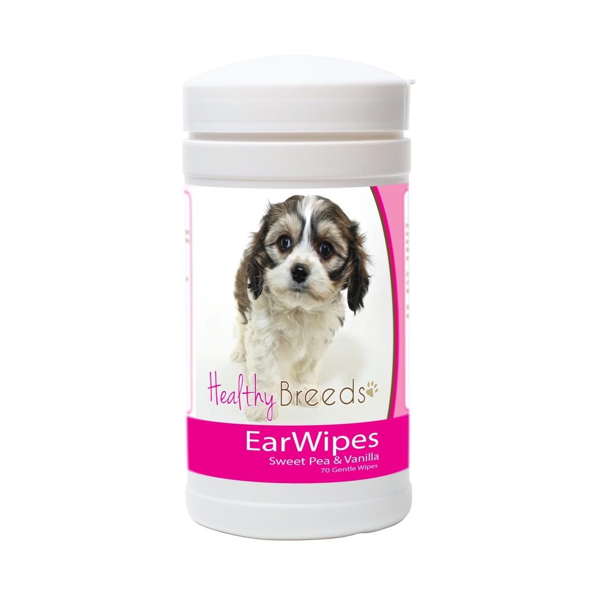 Healthy Breeds 840235175575 Cavachon Ear Wipes - 70 Count