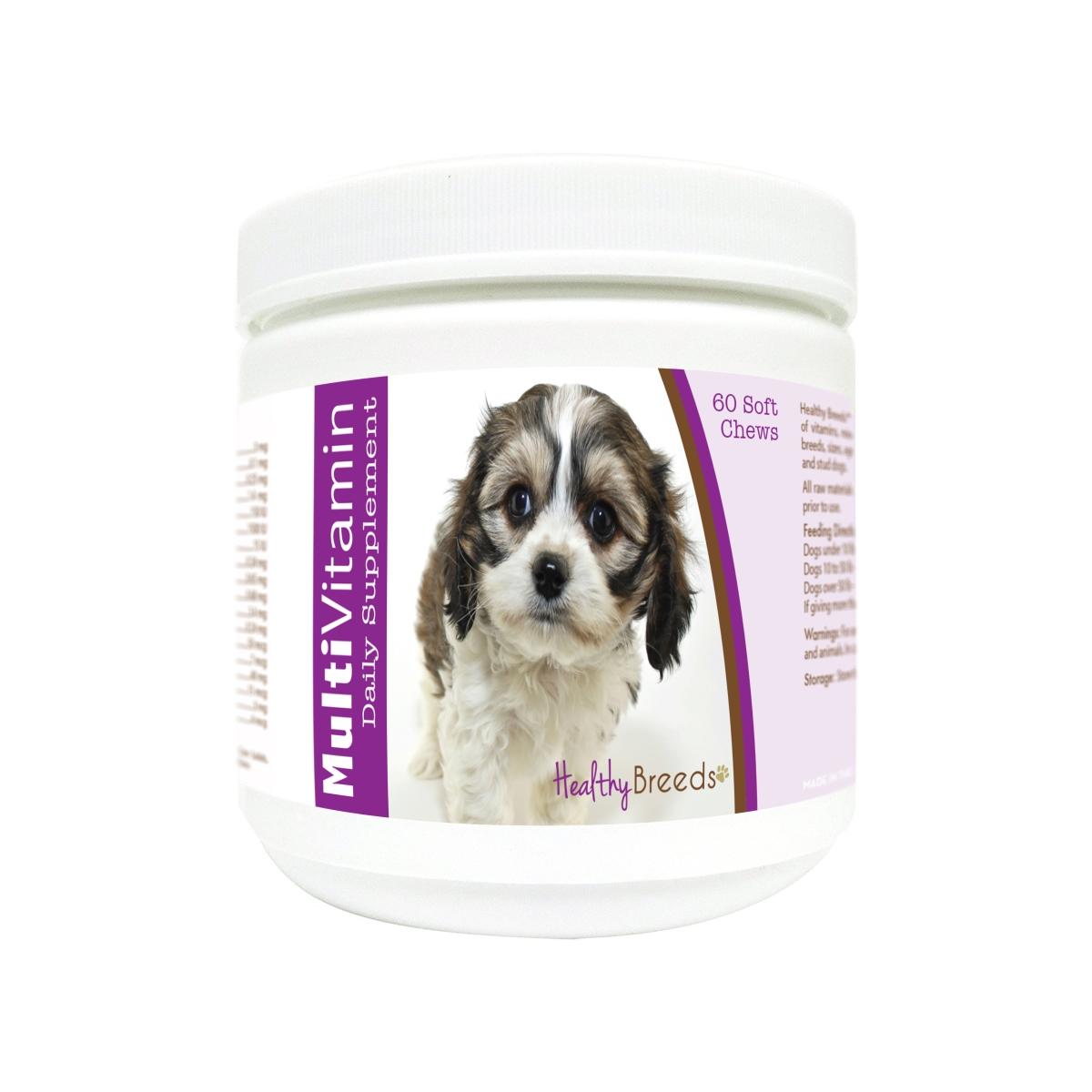 Healthy Breeds 840235175582 Cavachon Multi-Vitamin Soft Chews - 60 Count