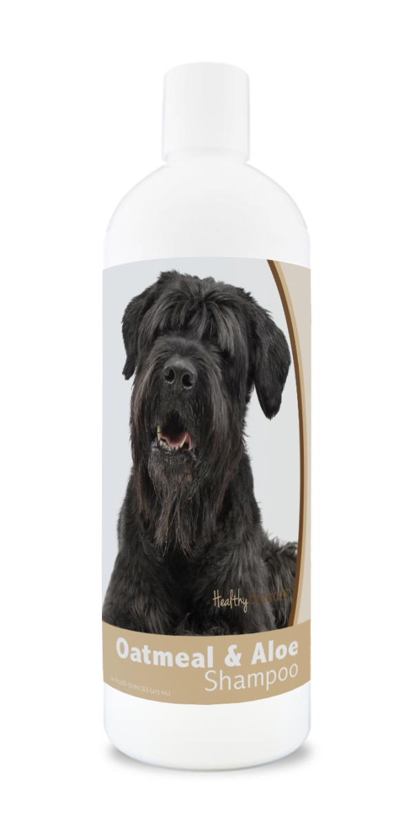 Healthy Breeds 840235175704 16 oz Black Russian Terrier Oatmeal Shampoo with Aloe