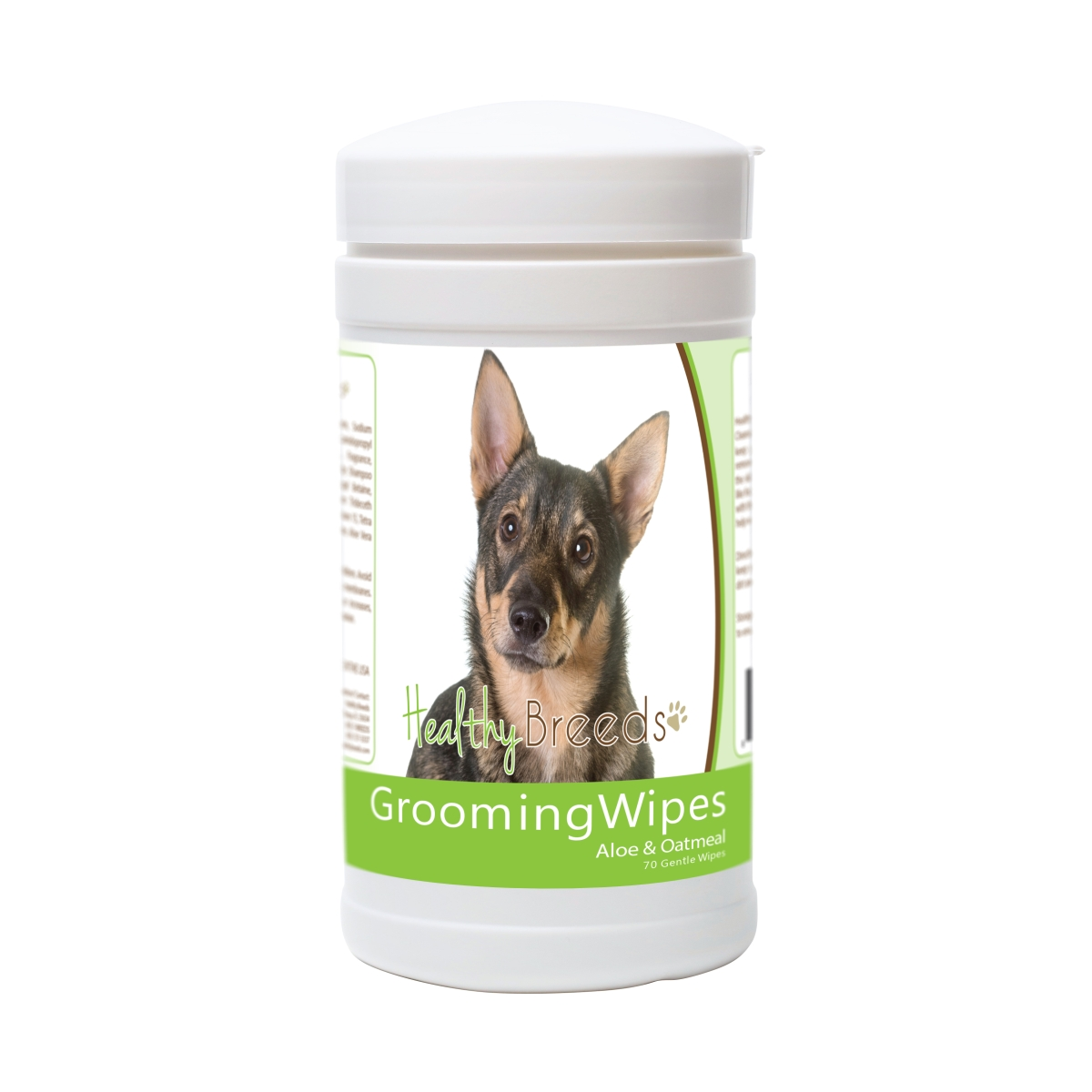 Healthy Breeds 840235175780 Swedish Vallhund Grooming Wipes - 70 Count