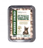Healthy Breeds 840235175803 8 oz Swedish Vallhund All Natural Freeze Dried Treats Chicken Breast