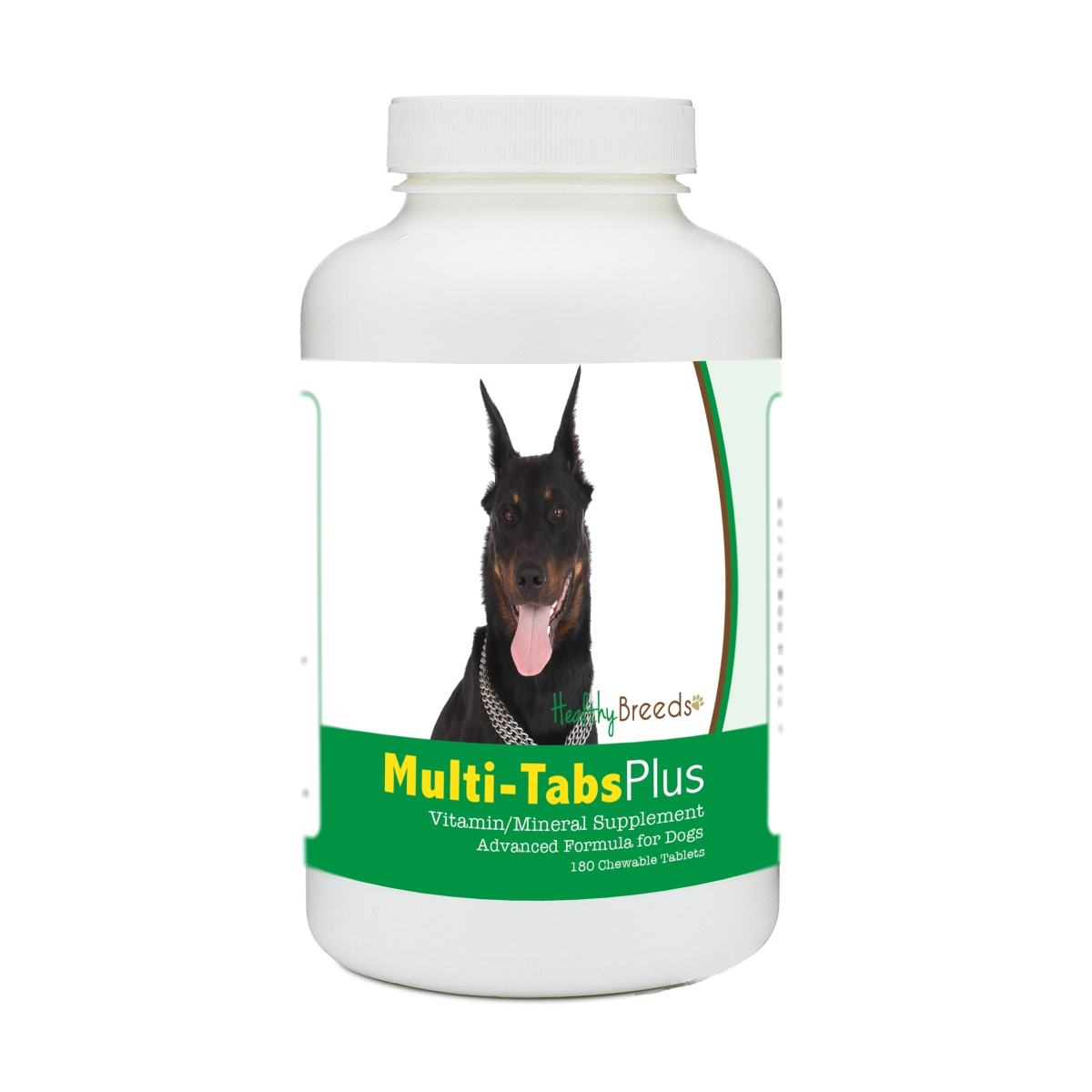 Healthy Breeds 840235175865 Beauceron Multi-Tabs Plus Chewable Tablets - 180 Count