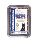Healthy Breeds 840235175926 10 oz Beauceron All Natural Freeze Dried Treats Beef Liver