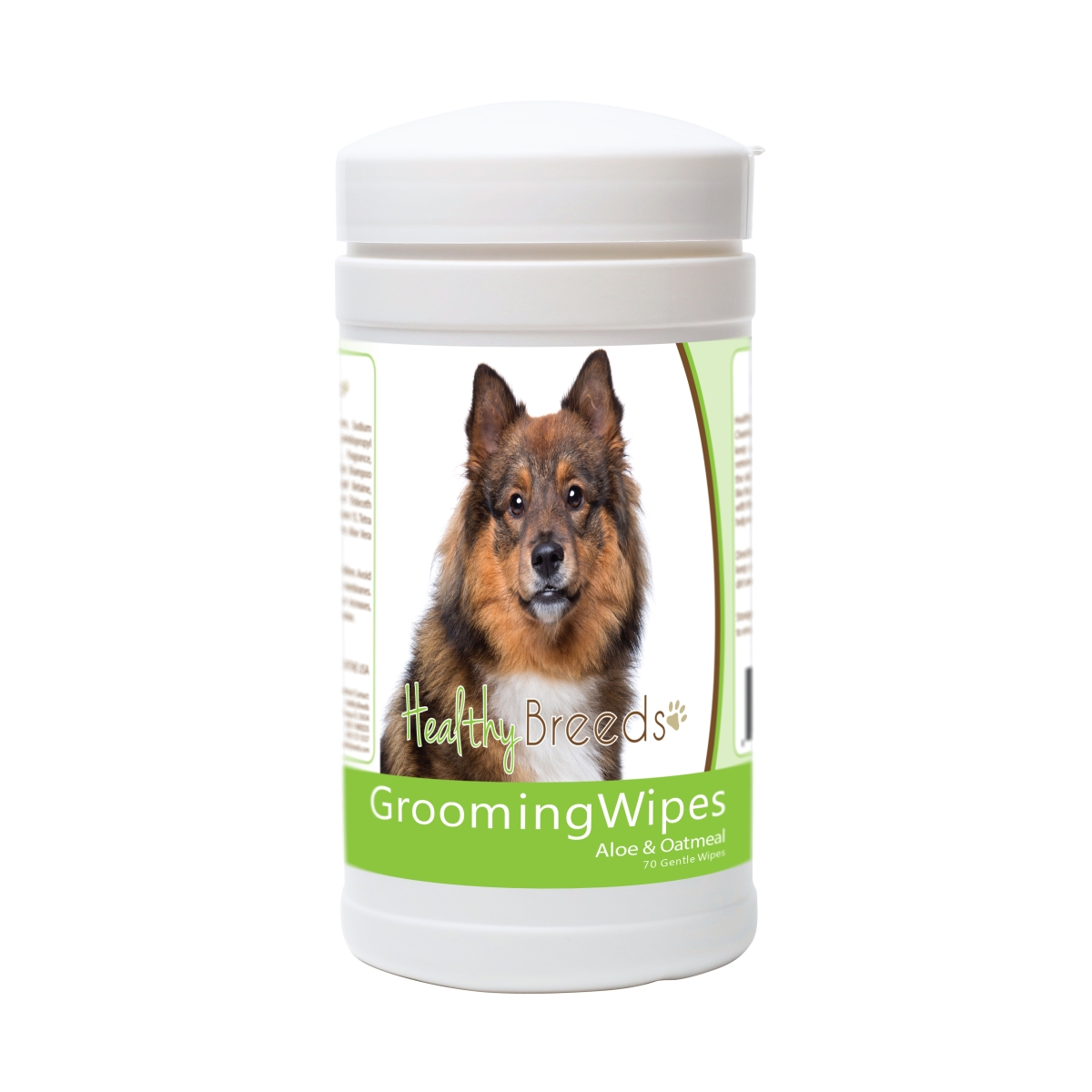 Healthy Breeds 840235176022 Eurasier Grooming Wipes - 70 Count