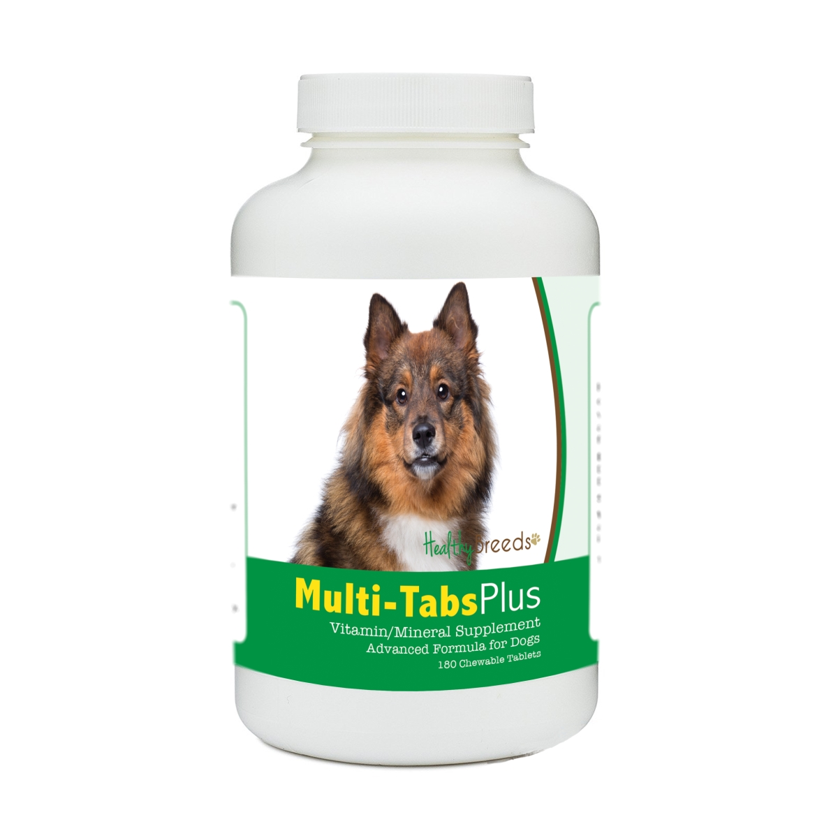 Healthy Breeds 840235176060 Eurasier Multi-Tabs Plus Chewable Tablets - 180 Count