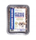 Healthy Breeds 840235176077 10 oz Peekapoo All Natural Freeze Dried Treats Beef Liver
