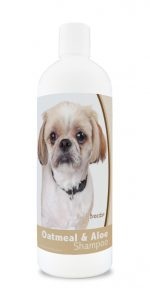 Healthy Breeds 840235176114 16 oz Peekapoo Oatmeal Shampoo with Aloe