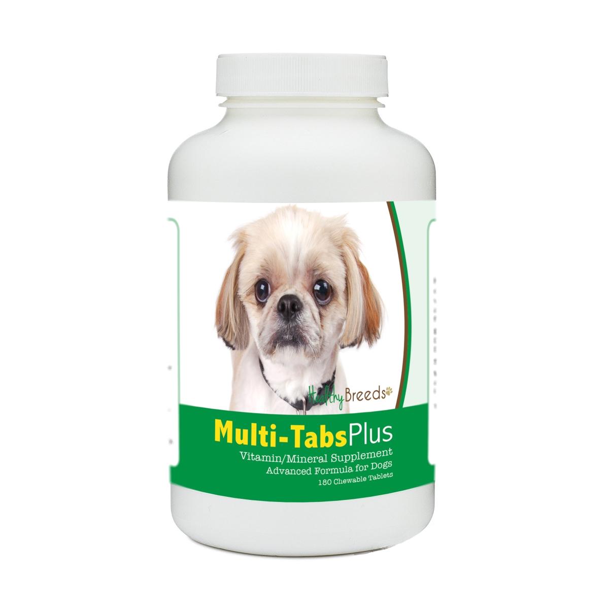 Healthy Breeds 840235176145 Peekapoo Multi-Tabs Plus Chewable Tablets - 180 Count