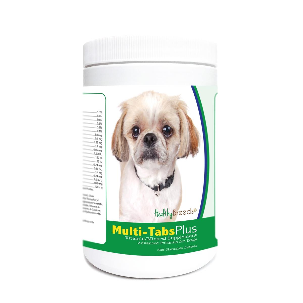 Healthy Breeds 840235176152 Peekapoo Multi-Tabs Plus Chewable Tablets - 365 Count