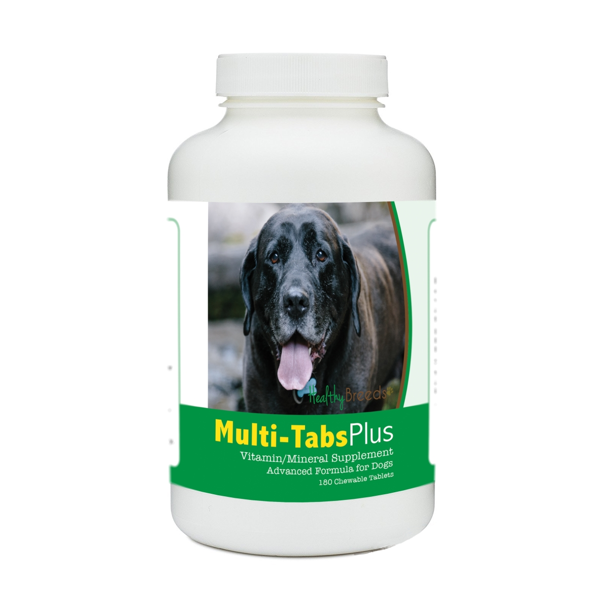 Healthy Breeds 840235176305 Mastador Multi-Tabs Plus Chewable Tablets - 180 Count