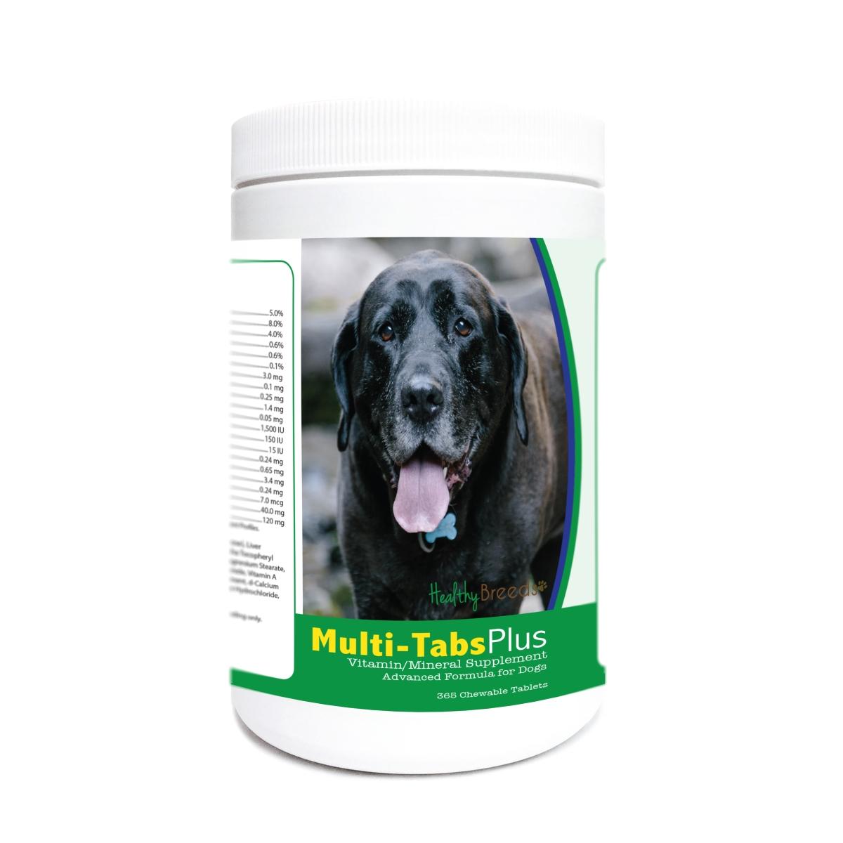 Healthy Breeds 840235176381 Mastador Multi-Tabs Plus Chewable Tablets - 365 Count