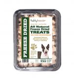 Healthy Breeds 840235176442 8 oz Miniature Bull Terrier All Natural Freeze Dried Treats Chicken Breast